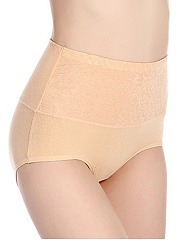 Plus Size Soft Cotton High Waisted Bidy Fitness Panty