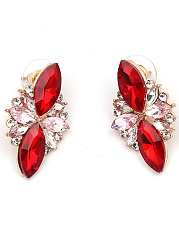 Celebrity Rhinestone Stud Earrings