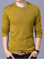 Men-Basic-Crew-Neck-Plain-Sweater