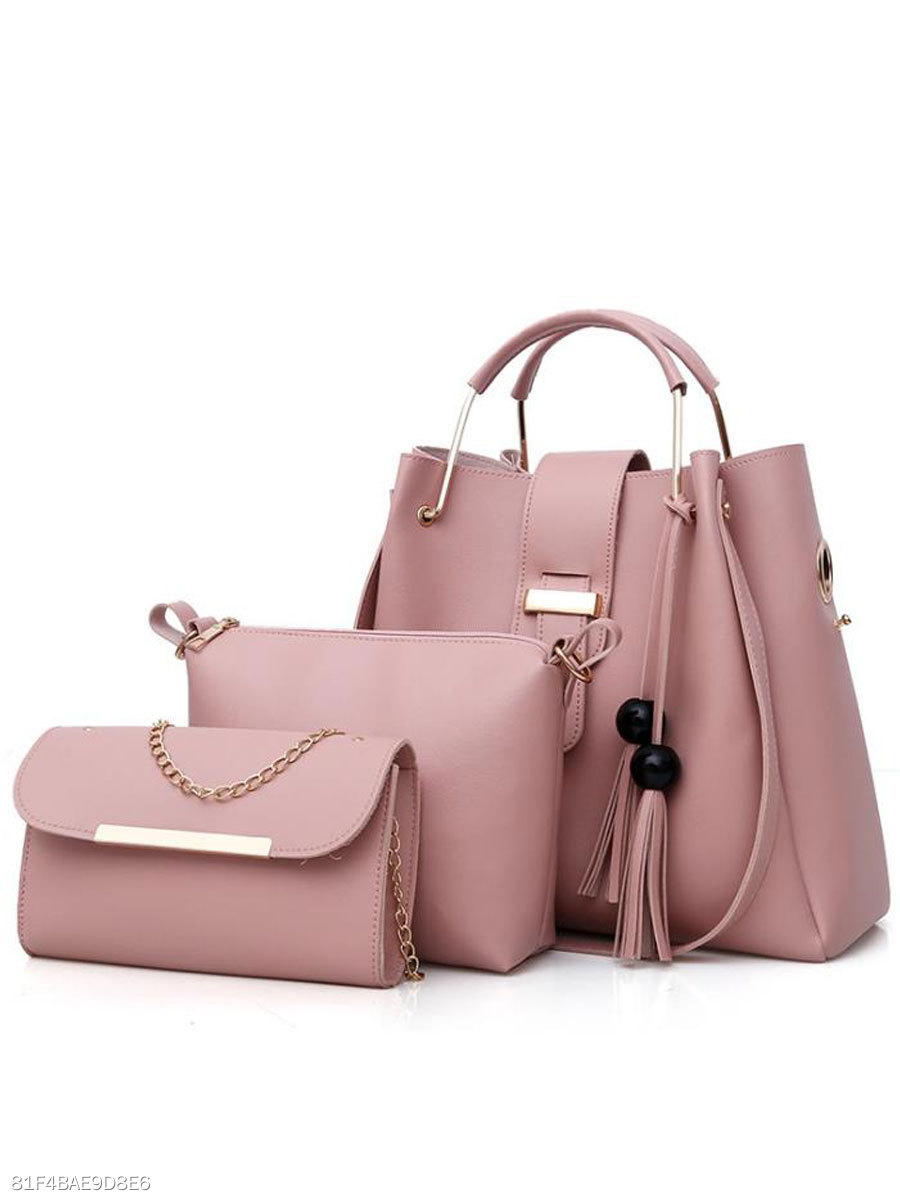 New Style Two Pieces Plain Shoulder Bag
