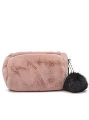 Mini-Chein-Soft-Faux-Fur-With-Pompon-Crossbody-Bag