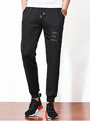 Plain-Striped-Mens-Casual-Jogger-Pants