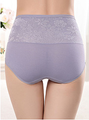 Soft High Rise Shaping Body Fitness Foral Panties