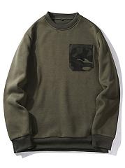 Round-Neck-Camouflage-Patch-Pocket-Men-Sweatshirt