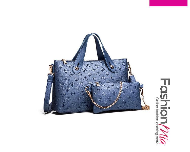 Two Pieces Plain Women Hand Bags