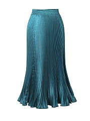Solid-Color-Deluxe-Pleated-Maxi-Skirt