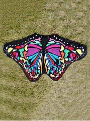 Butterfly-Shape-Printed-Beach-Shawl