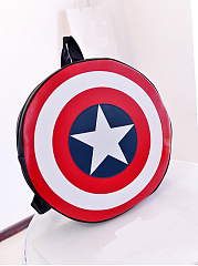 New-Captain-America-Shield-Print-Drawstring-Backpack