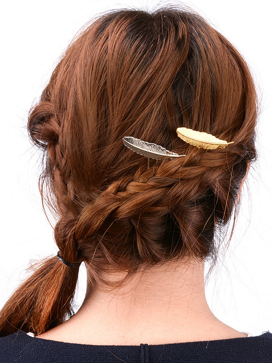 Leaf Shape Hair Pin