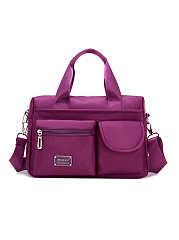 Nylon Waterproof Large Capacity Pockets Handbag