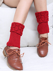 Hollow Long Legs Socks