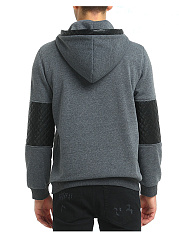 Modern Patchwork Pocket Men Hoodie