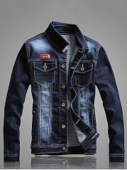 Single-Breasted-Flap-Pocket-Denim-Men-Jacket