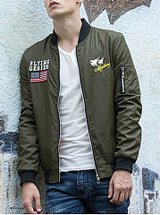 Band-Collar-Embroidery-Printed-Men-Bomber-Jacket