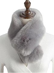 Plain-Faux-Fur-Wrap-Collar-Shawl