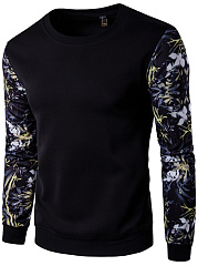 Designed Round Neck Men Printed T-Shirt