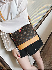 Stylish Classic Print Shell Bag Crossbody Bag