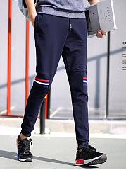Striped-Elastic-Waist-Pocket-Mens-Casual-Jogger-Pants