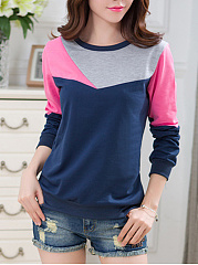 Color-Block-Round-Neck-Sweatshirt