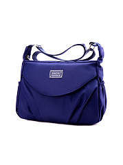 Nylon Waterproof Crossbody Bag Portable Travel Bag