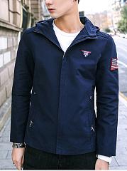 Hooded-Badge-Pocket-Men-Coat