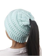 Cute  Europe Stylish  Knitted Hats For Children