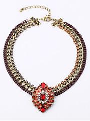 Exotic-Chain-Braided-Rhinestone-Necklace