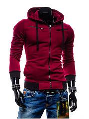 Mens-Zips-Color-Block-Hoodie