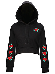 Embroidery-Patch-Cropped-Hoodie
