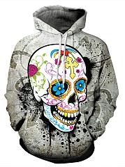 Colorful-Skull-Printed-Kangaroo-Pocket-Men-Hoodie