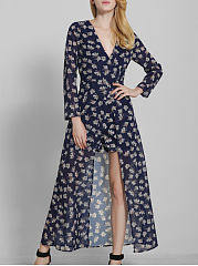 Allover-Flower-Printed-Deep-V-Neck-Maxi-Romper