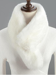 Fashion Faux Fur Wrap Collar Shawl