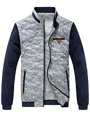 Band-Collar-Pocket-Color-Block-Men-Jacket
