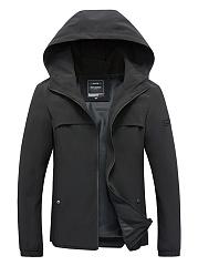 Hooded-Plain-Men-Trench-Coat