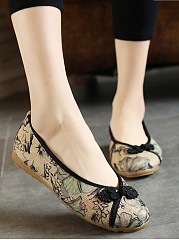 Unique-Printed-Decorative-Button-Ballerinas