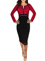 Sweet Heart  Colouring Bodycon Dress