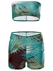 Strapless-Printed-Swimwear