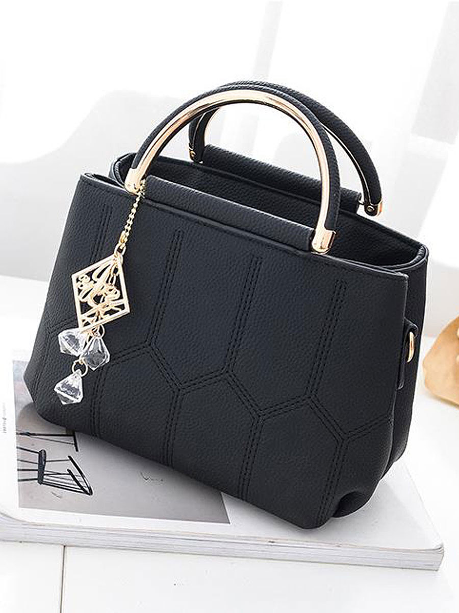 Plain Tassel Women Crossbody Bags