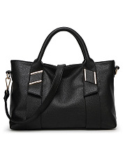 European Style Soft Leather Large Capacity Basic Shoulder Bag