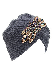Hot Fashion Europe Stylish Decoration Knitted Hats
