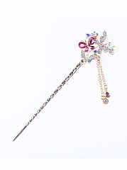 Crystal Butterfly  Hair Pin