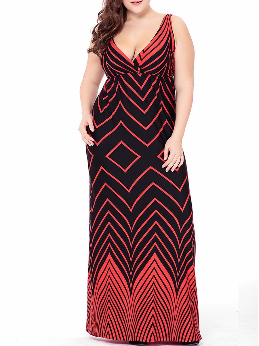 Sexy Plus Size Maxi Dresses