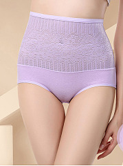 Sexy Cotton High Waisted Body Fitness Panty