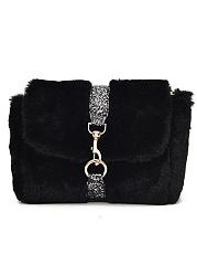 Exclusive-Faux-Fur-Chein-Crossbody-Bag