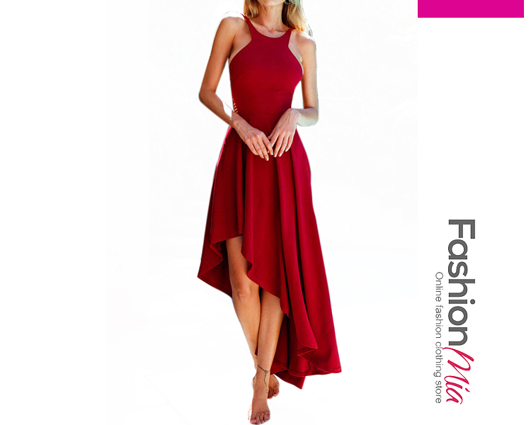 3d2685a7ced3 Spaghetti Strap Plain Maxi Dress ...
