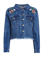 Polo-Collar-Flap-Pocket-Single-Breasted-Embroidery-Long-Sleeve-Jackets