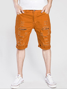 Mens Distressed Shorts