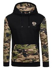 Men-Camouflage-Kangaroo-Pocket-Hoodie