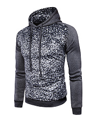Fitted Leopard Men Hoodie