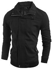 Lapel-Flap-Pocket-Men-Jacket